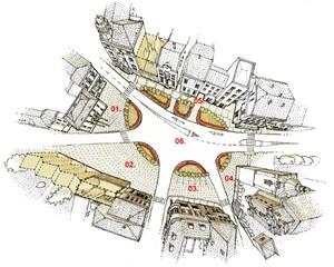 Dočasné úpravy náměstí T.G.Masaryka v Červeném Kostelci