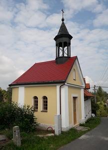 Obnova kaple nejsvětější Trojice ve Stolíně