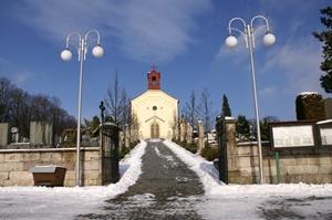 Hřbitov s kaplí sv. Cyrila a Metoděje